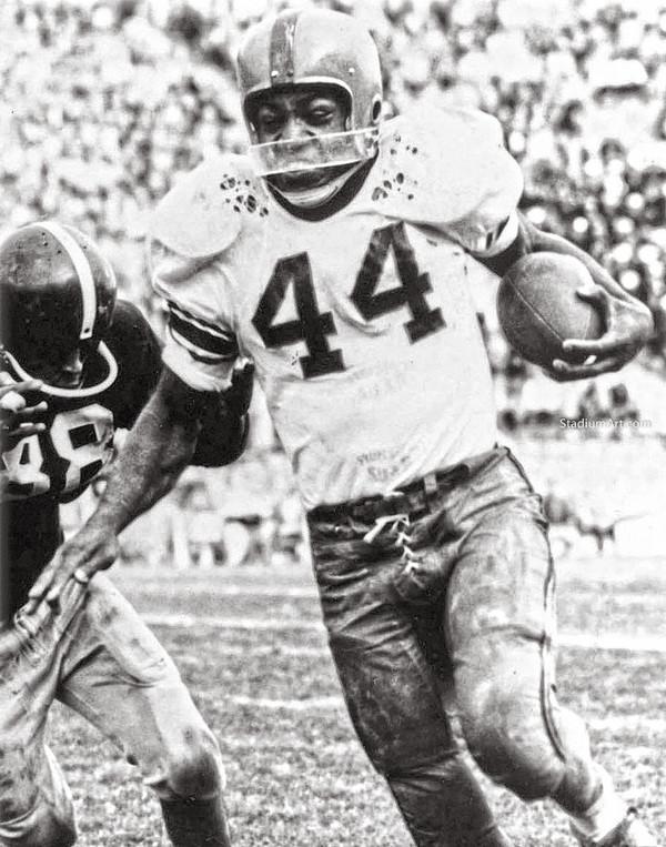Cleveland Browns Jim Brown Football Photo Print 07 8x10-48x36