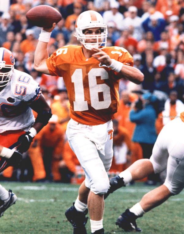 Tennessee Volunteers Peyton Manning Vols NCAA College Football CHOICES
