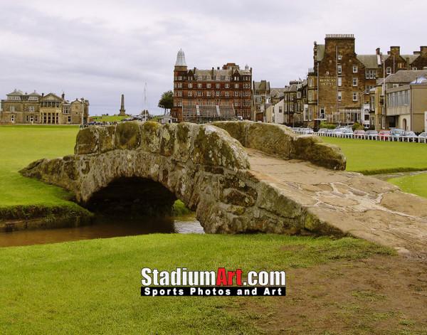 St Andrews Links Old Course 2110 Swilkens Bridge  8x10-48x36 Photo Print