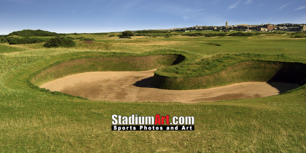 St Andrews Links Old Course 2160 Hell Bunker  8x10-48x36 Photo Print