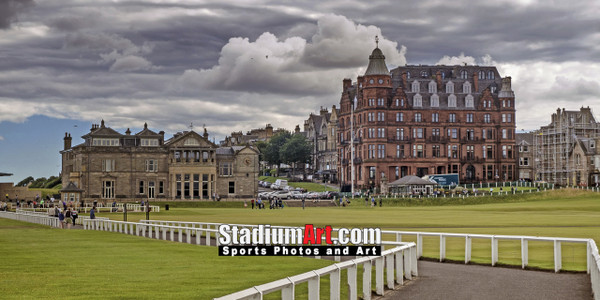 St Andrews Links Old Course 4120 Royal Ancient Club  8x10-48x36 Photo Print