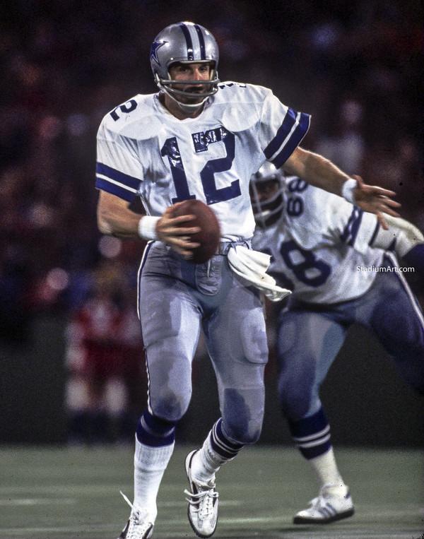 Dallas Cowboys Roger Staubach 51 NFL Football 8x10-48x36 CHOICES