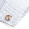 NY Yankees Baseball Cufflinks