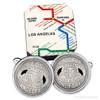 Los Angeles Transit Token Cufflinks