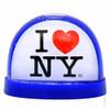 I Love New York Plastic Snow Globe