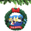 San Diego Wreath Ornament