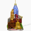Philadelphia Christmas Ornament Glass