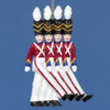 rockette soldiers ornament