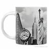 Black and White New York City Landmark Photo Mugs