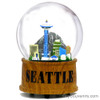 Skyline Musical Seattle Snow Globe, Seattle Snow Globes for Souvenirs