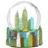 New York snow globe musical 100mm globe