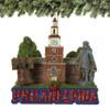 Philadelphia Landmarks Christmas Ornaments