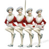 Rockettes Kickline Ornament