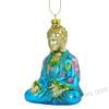 Glass Buddha Ornament