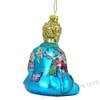 Glass Buddha Ornaments by Kurt Adler