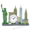 New York City skyline clock souvenir
