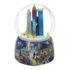 Times Square Rotating Snow Globe