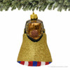 Philadelphia's Liberty Bell Glass Ornament