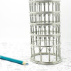 Leaning Tower of Pisa Steel Wire Model Replica