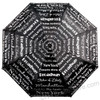 New York Text Umbrella