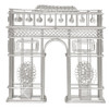 Steel Wire Arc de Triomphe replica