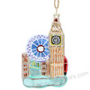 London Glass Collage Ornament