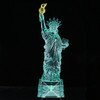 6.5 Inch LED Light-Up Statue of Liberty Statue