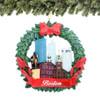 Boston Wreath Ornament