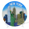 New York Landmarks Collectors Plates