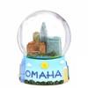 65mm Omaha, Nebraska Snow Globe
