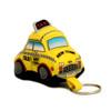 Stuffed New York City Taxi Keychain