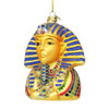 King Tut Glass Christmas Ornament
