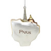 Paris Icons Glass Ornament