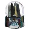 Chicago Fountain Snow Globe Skyline 65mm