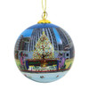 Rockefeller Center Christmas Tree Glass Ball Ornament