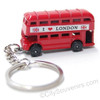 london double decker bus keychains, keyrings