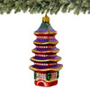 Japanese Five Storied Pagoda Ornament - Glass