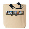 Las Vegas Photo Canvas Tote Bag