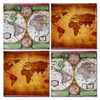Antique World Map Coaster