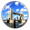 London Tower Bridge Crystal Paperweight