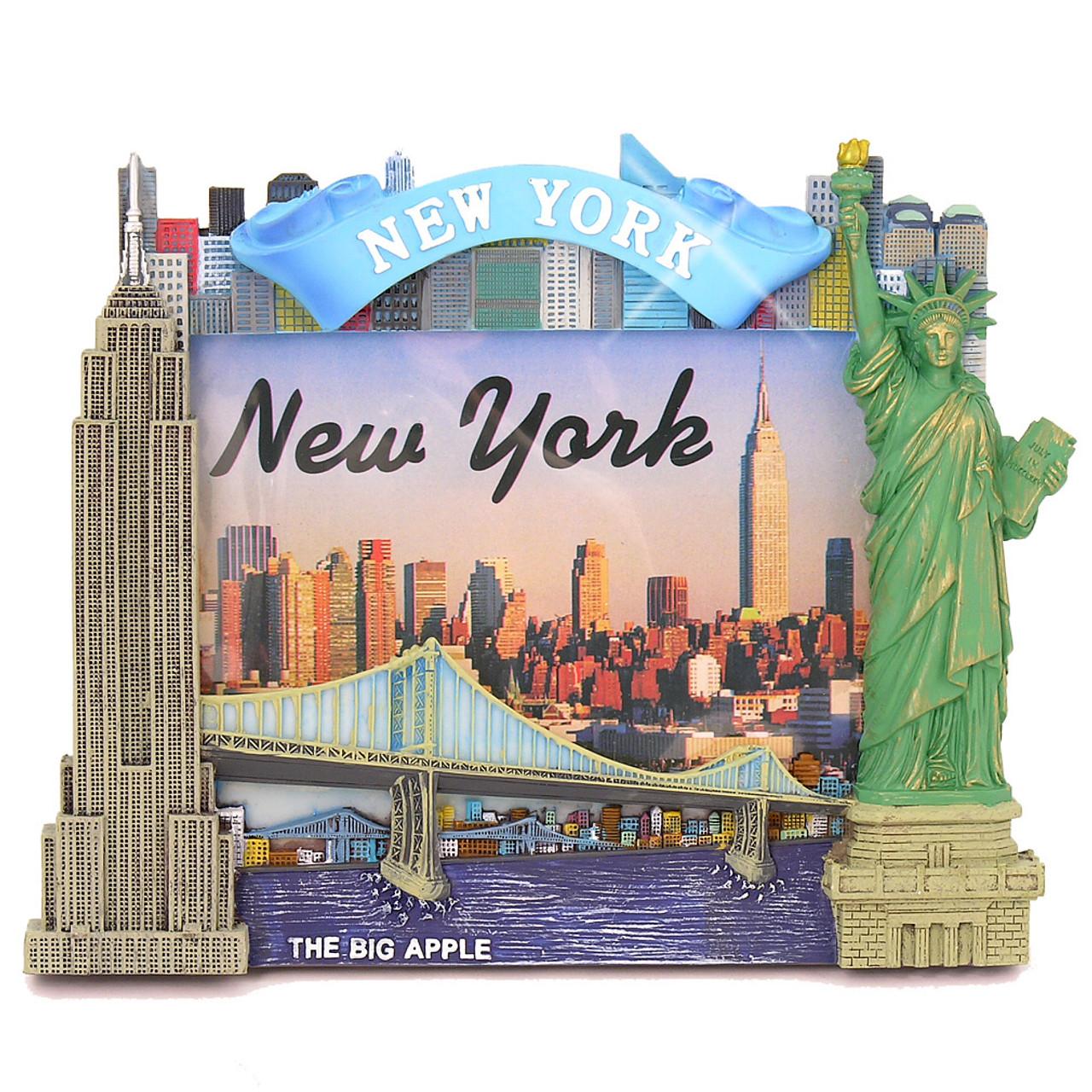 NY Skyline Picture Frames with New York City Skyline Landmarks