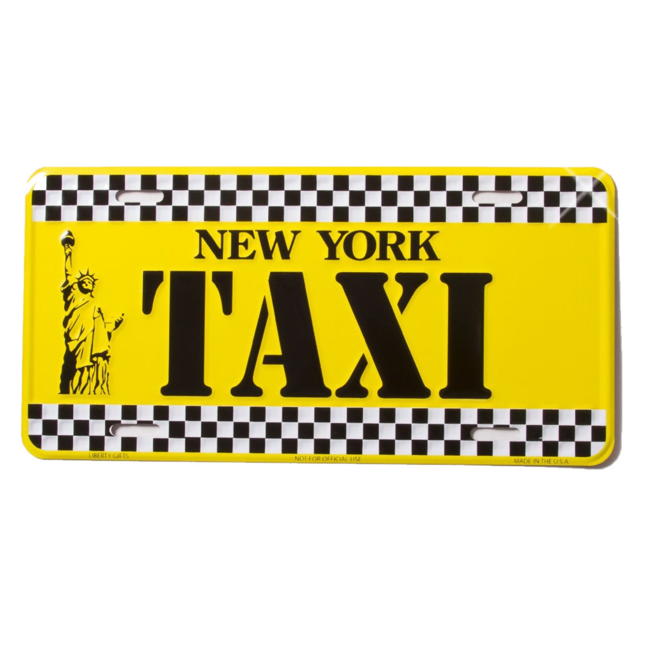 New York Taxi License Plate