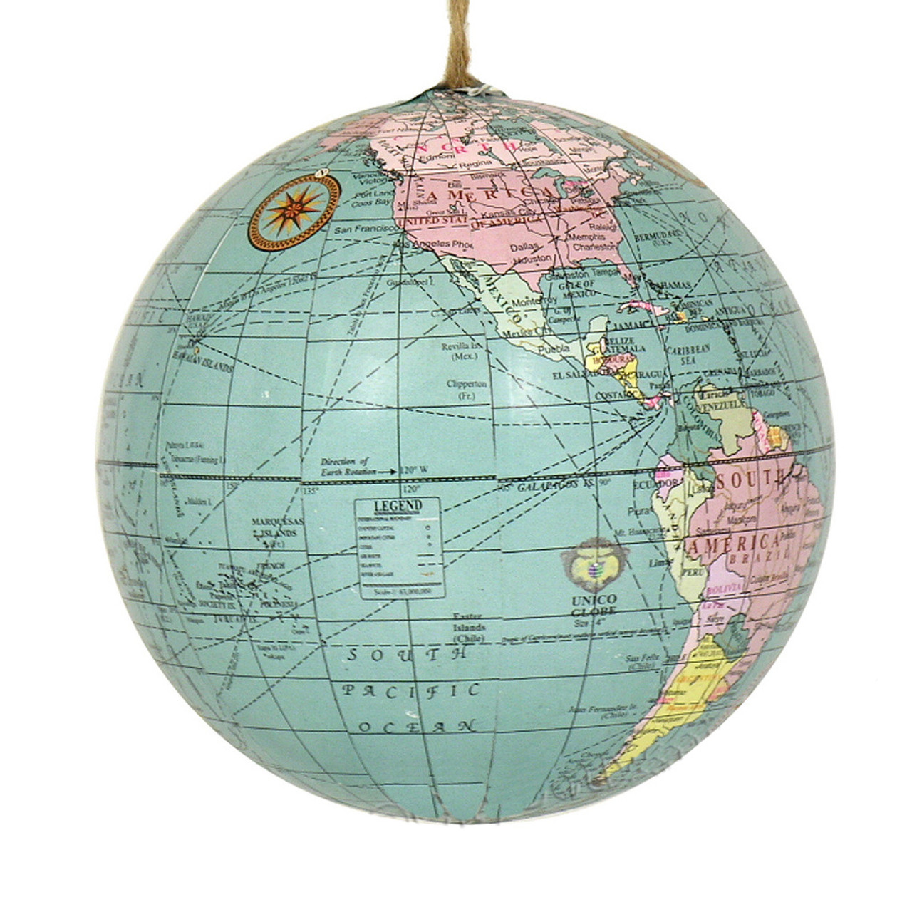 Christmas Ornaments For Sale Canada: World Globe Ornament