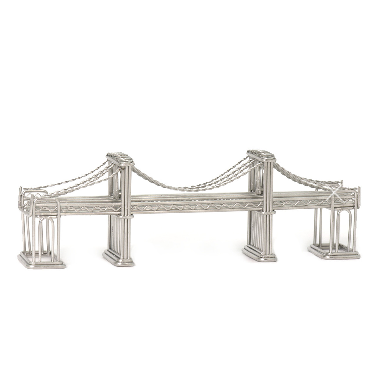 Brooklyn Bridge Mini Wire Model