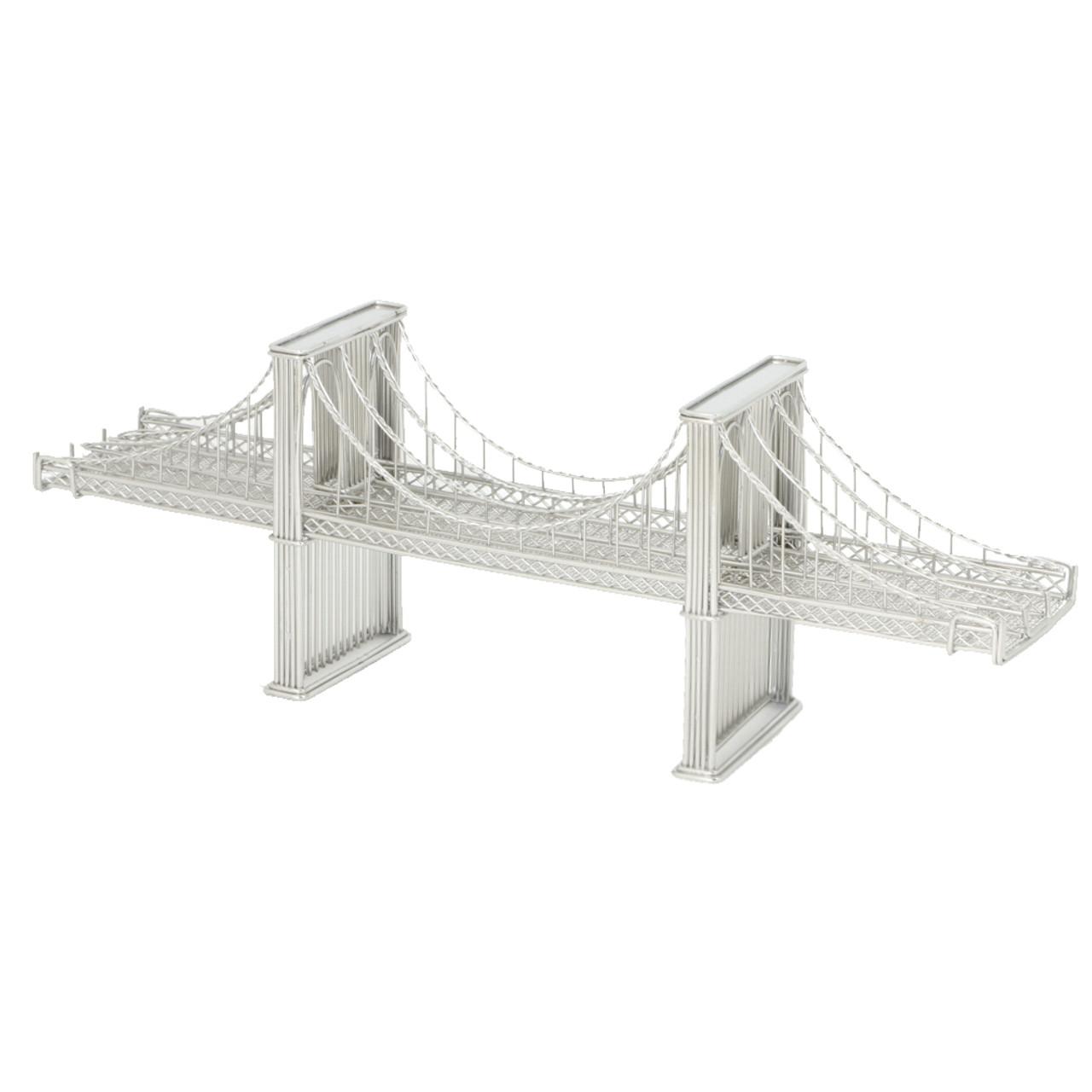 Brooklyn Bridge Model, Steel Wire Replica