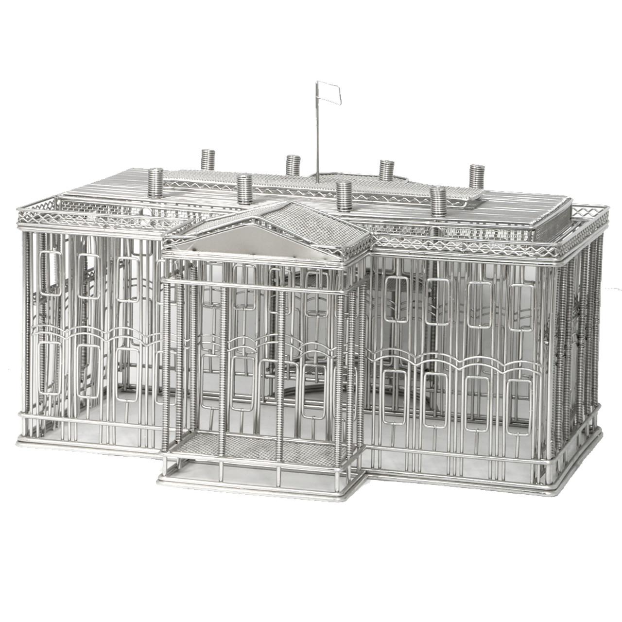 White House Wire Model, Steel Replica