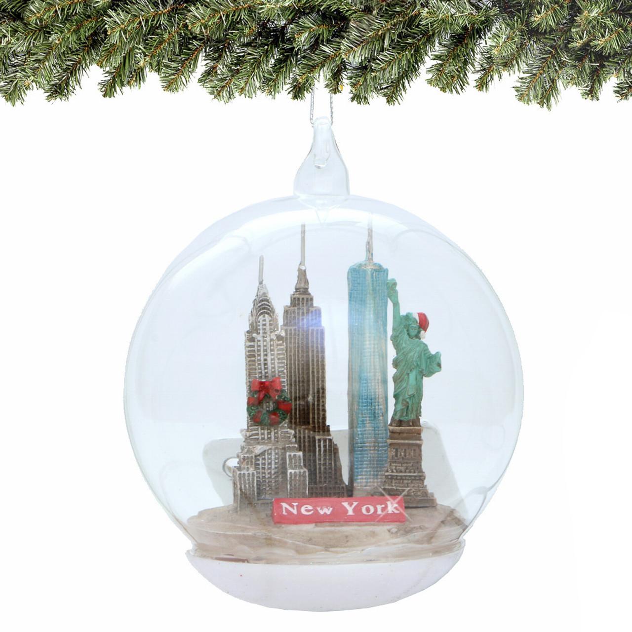Rockefeller Center Christmas Ornament