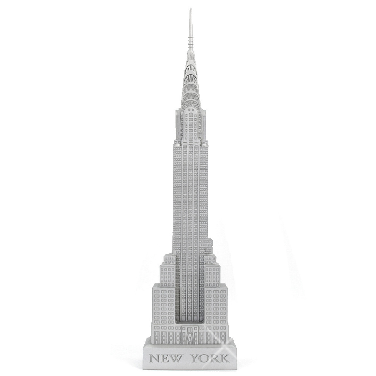 18-Inch Chrysler Building Statues From New York City