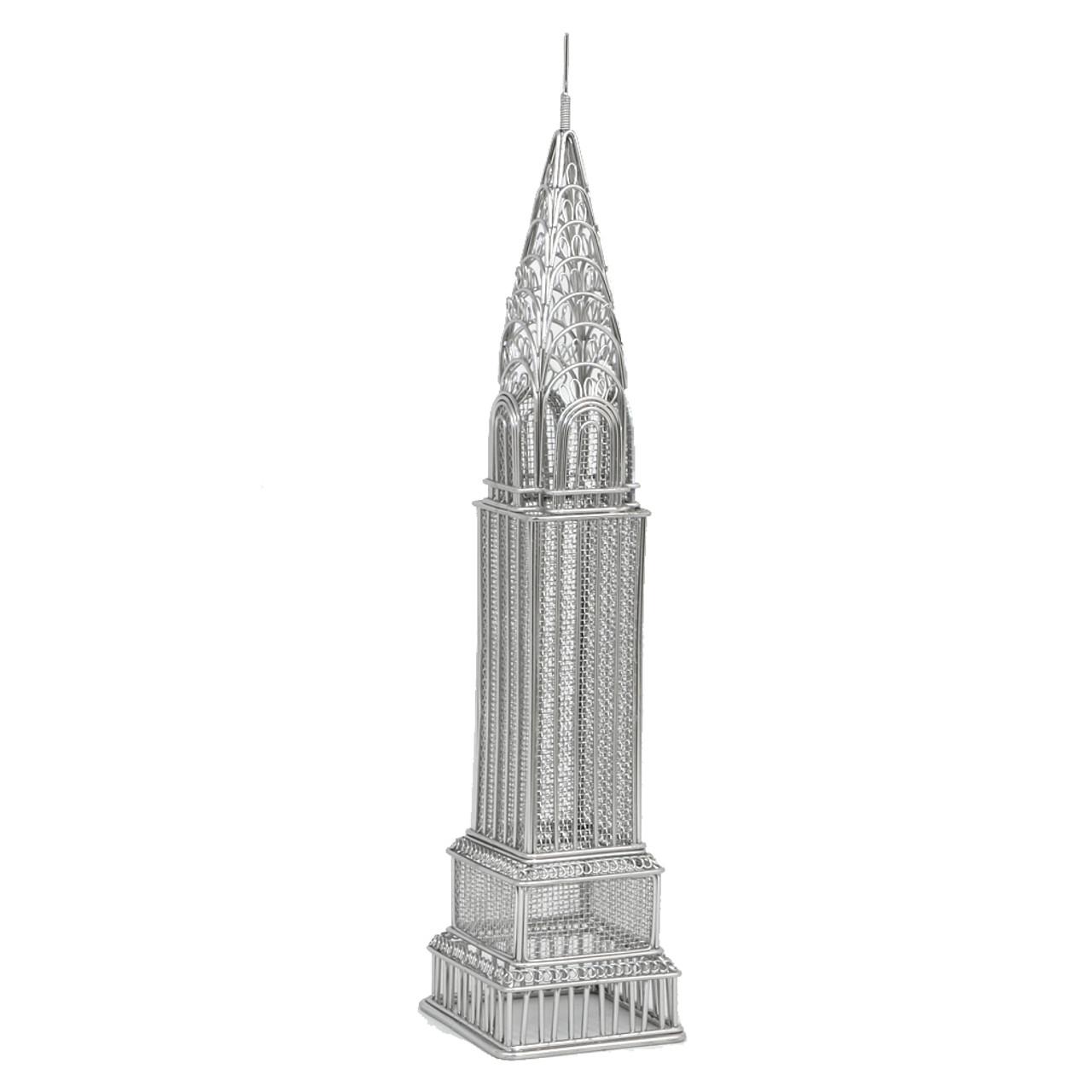 Chrysler Building Wire Model