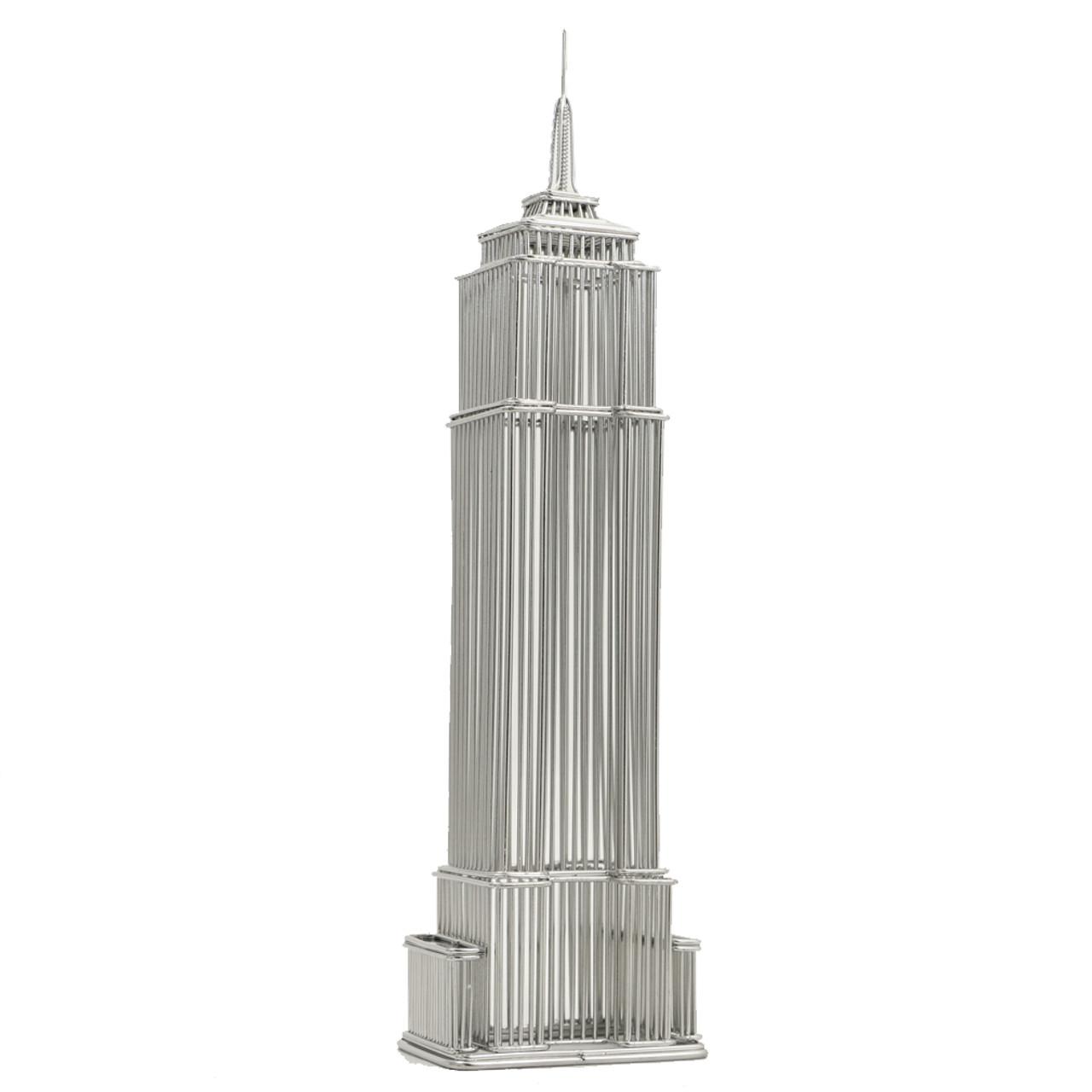empire state building wire model